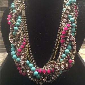 Stella & Dot Retired Bamboleo Mixed Necklace.